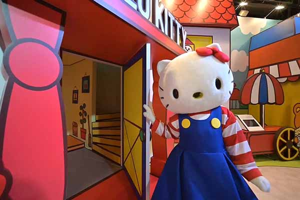 Hello Kitty 45週年互動展 十大打卡主題超萌登場