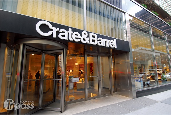 Crate and Barrel 家居用品店